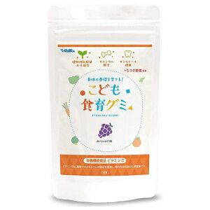 幼児 栄養補助サプリ こども食育グミ 1袋 偏食 少食 野菜嫌い 植物性乳酸菌(お米由来K-2乳酸菌)216億 ビタミンD キシリトール 栄養機能食品