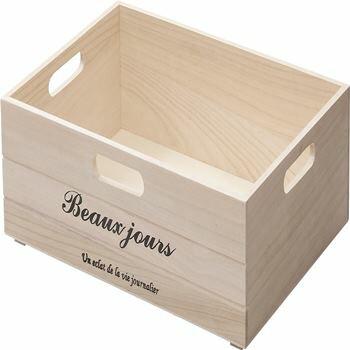 収納ボックス 収納M W38×D27×H14cm 北欧 インテリア おすすめ 家具 東谷 AZUMAYA