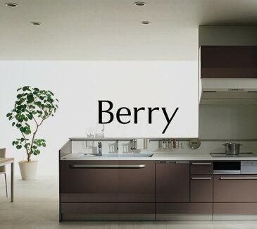 Berry Plan11 スクエアタイプ オープンプラン システムキッチン キッチン部のみ トクラス