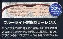 ハズキ コンパクト 1.6倍 ブラックグレー ブルーライト対応【カラーレンズ】Hazuki 2