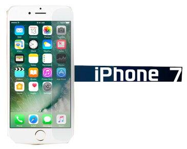 <液晶保護フィルム>傷、ほこりから守る! iPhone7(アイフォン)専用液晶保護シール 1点