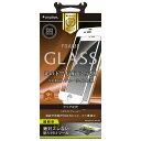 Simplism iPhone 7Plus 8Plus 5.5インチ フィルム AR光反射低減 ブルーライト低減 フレームガラスフィルム ホワイト TR-GLIP165-FMARWT