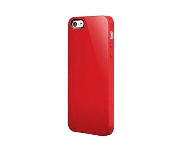 スマホケース カバー iPhoneSE(第一世代) 5 5s SwitchEasy レッド 赤 ジャケット ポリカーボネート コネクタプロテクター2個、フロント用保護フィルム2枚、バック用保護フィルム1枚、マイクロファイバークロス NUDE SW-NUI5-R/01/K