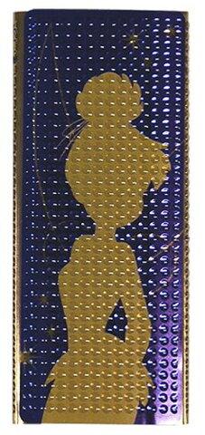 iPodnano デコレーション シール iPod nano4th ディズニー ゴールド パープル 金 紫 ティンカーベル Rix iPod nano4th専用 iJacket キラキラ立体シール ティンカーベル RX-IJK359TKB