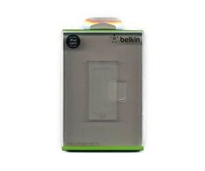Belkin ベルギン 第7世代iPod nano ケース 半透明 ポリカーボネート マットコート ポータブルメディアプレイヤーケース カバー