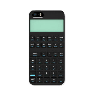 iPhone5 アイフォン5 ケース/カバー【電卓 TPU素材】液晶保護シート1枚付属iphone5 iPhone5 ア...