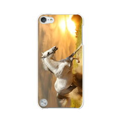 第5世代 iPod touch apple アイポッド ケース/カバー【駆ける馬 選べる6カラー】ipodtouch5 第5...