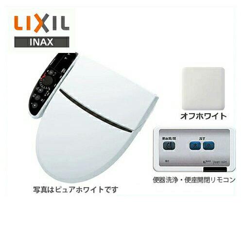 [CW-K45AQC-BN8] INAX 温水洗浄便座 Kシリーズ K-EXTRA シャワートイレ 大型共用便座 貯湯式1.40L アメージュZ便器等用 フルオート便器洗浄あり オフホワイト 壁リモコン付属 :住の森
