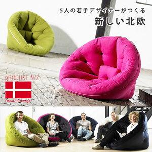 ごろ寝マット 北欧ソファ 北欧家具 2WAYソファ ファブリック 布製 フロアソファー 座椅子 1P 1...