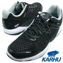KARHU カルフ IKONI ORTIX イコニ オルティックス JET BLACK/WHITE ジェットブラック/ホワイト メンズ・レディース ランニングシューズ 1