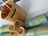 民芸品竹、アイスペール、竹マドラー、竹トング、おちょこ20ケ。4点セット、民芸製品