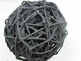炭珠、大10cm環境改善、インテリア、オブジェ、空気浄化、消臭、吸着等可愛い炭で作ったボールです。お部屋に置いておくだけで様々な効果がみられます。