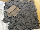 竹炭10cmサイズ10kg1箱、国産美品、業務用、土産物に!