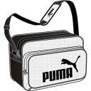 プーマ 2018FW puma-075370-03 エンボス加工 PU ショルダー バック M その1