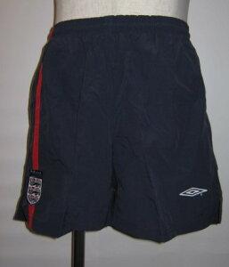 アンブロ 2001-02 イングランド ホーム レプリカ ゲーム パンツ