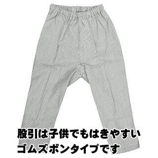お祭り用品子供用本刺子腹掛・ゴム股引セット1号・2号・3号