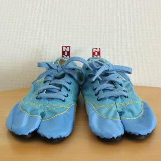 祭り用品ランニング足袋無敵MUTEKI(サックスブルー)25.0cm〜27.0cm