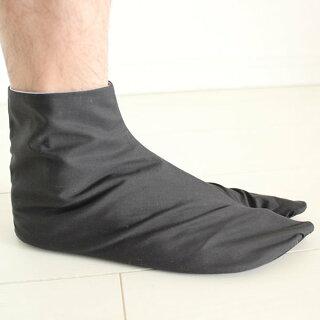 <メール便対象>お祭り用品雪駄(せった)用黒カラス足袋22.0cm〜26.0cm