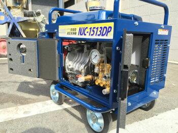 【特別価格】エンジン式高圧洗浄機防音型SUMMY(精和)【NJC-1513DP】ホース30Mドラム付セット最安値低騒音【台数限定価格】