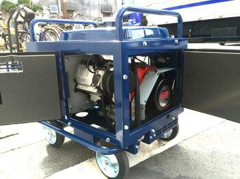 【9月までのセール価格】エンジン式高圧洗浄機防音型SUMMY(精和)【NJC-1513DP】ホース30Mドラム付セット最安値低騒音【台数限定価格】