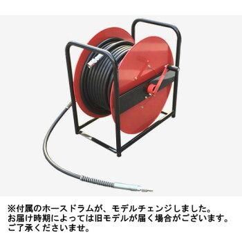 【使いやすさ重視】フルテックカート型エンジン式高圧洗浄機JX1513Gホース30Mドラム付きセット業務用