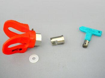 精和産業ダイヤフラム式エアレス塗装機電動エアレススーパー60DX(ホース30Mセット)ターンクリーンチップ付【2月末までのセール価格!】
