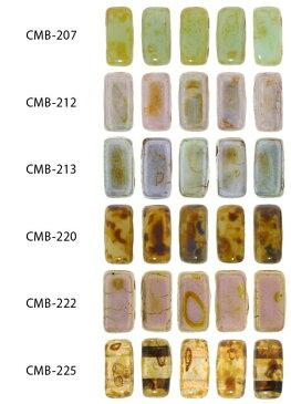 TOHO チェコメイト ブリック 3×6mm CMB-207〜CMB-225