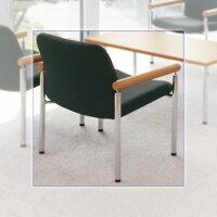 PLUS(プラス)応接セットRS-720小椅子RS-721S【幅640mm×奥行650mm×高さ750mm】【布張り・ダークグレー】