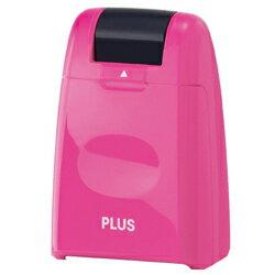 PLUS (プラス) 個人情報保護スタンプ ローラーケシポン IS-500CM-B_PK 【カラー:ピンク】