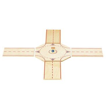 ベック ロードセット ロータリーセット BE30043 知育玩具 おもちゃ 木製 ドイツ製 誕生日プレゼント 1歳 2歳 3歳 4歳 5歳 出産祝い 女の子 男の子 積み木 学習トイ 学習