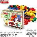 感覚ブロック アイリンゴ IRINGO 204ピース IR-204N【あす楽対応】 知育玩具 4歳 5歳 6歳 小学生 学習玩具 おもちゃ 男の子 女の子