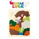 ジョージ・ラック・パズル 2重パズル・アフリカ GL6520 知育玩具 木製パズル 1歳 2歳 3歳 4歳 5歳 出産祝い ジョージ ラック