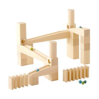 能力雪山木制積木組裝 Kugel 穀倉和初學者工具組 HA1128
