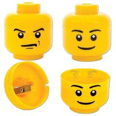 特大サイズで圧倒的な存在感を放つLEGOの頭!レゴ LEGO ヘッド鉛筆削り SCH-LGO3179-A