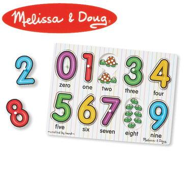 Melissa&Doug メリッサ&ダグ ペグパズル ナンバーズ MD3273 知育玩具