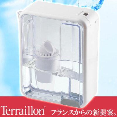 Terraillon(テライヨン)ポット浄水器artic(アーティック)1.5LホワイトTWF902WT