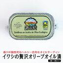 イワシの贅沢オリーブオイル漬け(3尾から5尾)【あす楽対応】