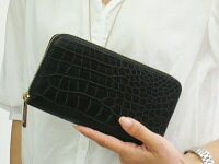 マットクロコダイル長財布S.sakamoto日本製店長のオススメ/レビューを書くと、5%OFF