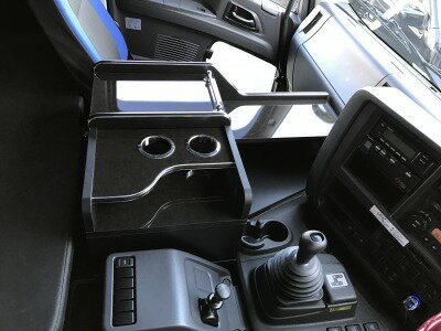 いすゞ A 新型ギガ 新型 ファイブスター ギガ センターコンソール センターテーブル コンソール テーブル 収納 内装 収納ボックス サイドテーブル トラック