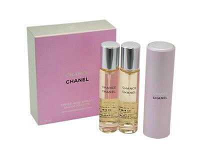 シャネル CHANEL チャンス ツイスト オードトワレ EDT SP 20ml SP レフィルx2 香水 フレグランス ...