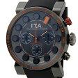 I.T.A アイ・ティ・エー 腕時計 メンズ 18.01.04 グラン プレミオ クロノグラフ ガンメタリック/オレンジ