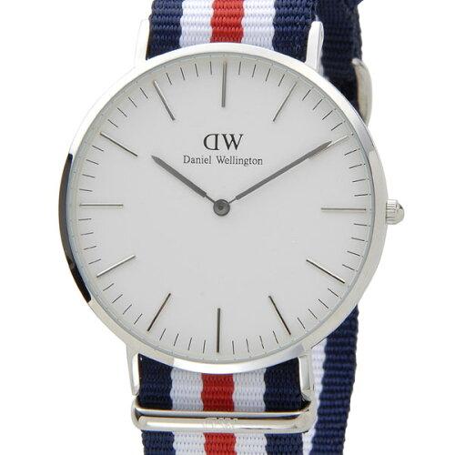 ダニエルウェリントン Daniel Wellington 腕時計 0202DW クラシック カンタベリー クオーツ