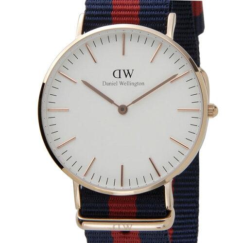 ダニエルウェリントン Daniel Wellington 腕時計 0501DW クラシック オックスフォード クオーツ