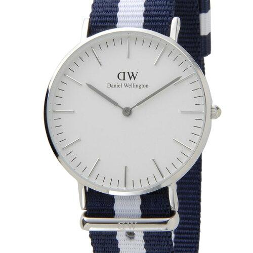 ダニエルウェリントン Daniel Wellington 腕時計 0602DW クラシック グラスゴー クオーツ