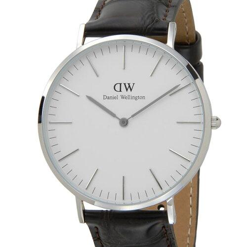 ダニエルウェリントン Daniel Wellington メンズ 腕時計 0211DW クラシック ヨーク 40mm シルバー