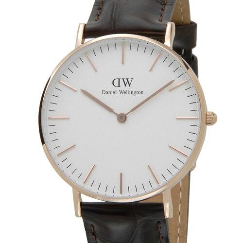 ダニエルウェリントン Daniel Wellington メンズ/レディース 腕時計 0510DW 00100038DWクラシック ...