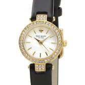 ケイトスペード kate spade 時計 1YRU0720 タイニーメトロ ホワイトシェル×ブラック革ベルト レディース 腕時計 DEAL