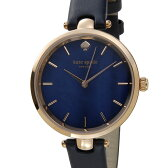 ケイトスペード kate spade レディース 腕時計 KSW1157 ホランド ネイビーマーブル×ローズゴールド DEAL