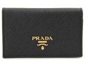 プラダ PRADA 名刺入れ カードケース 1MC122-QWA-F0002 SAFFIANO ブラック DEAL-SP 新品 送料無料