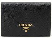 プラダ 名刺入れ PRADA 1MC945-QWA-F0002 SAFFIANO サフィアーノ カードケース ブラック